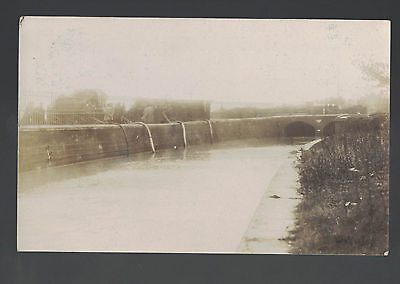 REAL PHOT0GRAPHIC 1911  RYDE  ISLE OF WIGHT FLOODS  see scans PUMPING OUT WATER