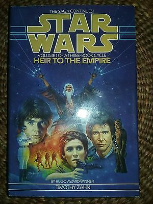 Heir to the Empire Hardcover Book Club Edition? Rare Edition? No ISBN number