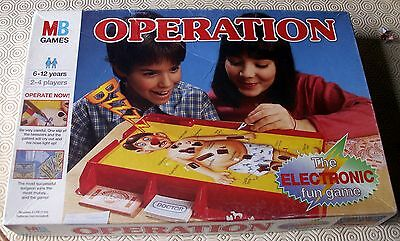 Vintage Operation Board Game by MB Games