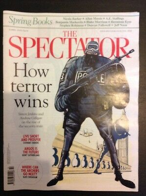 The Spectator Magazine - 9 April 2016 (Terrorism & Armed Policing)