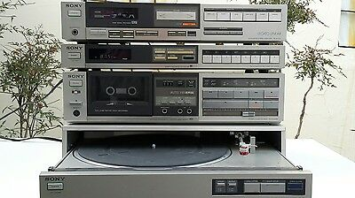 Sony Legato Linear Stereo Vintage con casse Sony
