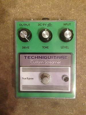 Pedale effet Custom Screamer (TS808 Tube Screamer effect pedal clone)