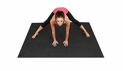 Large Yoga Mat. 6ft x 4ft (72 Inch x 48 Inch) & 6mm Thick. High Quality Non-T...