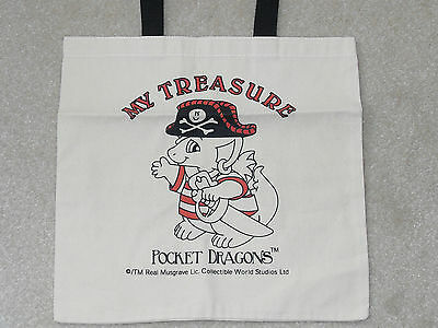 Collectible World Pocket Dragon * HESIAN SHOPPER BAG * MINT CONDITION