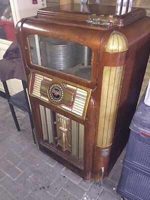 Wurlitzer Golden Age  Jukebox/Art Deco /Wallbox