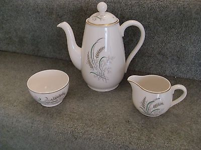 **copeland Spode Coffee Pot With Jug & Sugar Bowl - Oklahoma By Holdway**