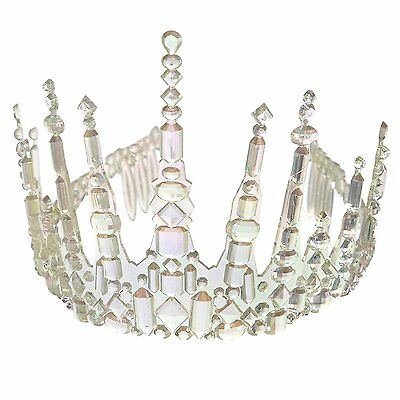 Adults Womens Icicle Crown Tiara Fancy Dress Accessory