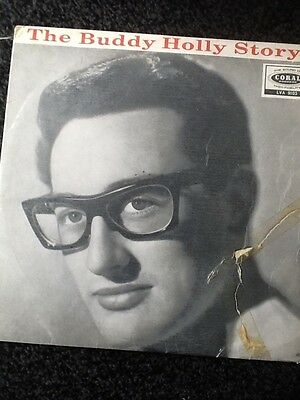 Buddy Holly - The Buddy Holly Story - Original Mono Lp On Coral Records - Gc