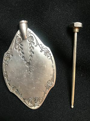 Antique Silver Perfume Flask