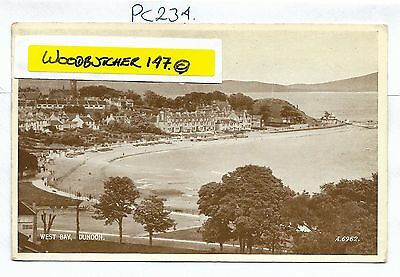 Dunoon. VALENTINE's PHOTOTYPE Postcard. A6592.  (PC234)