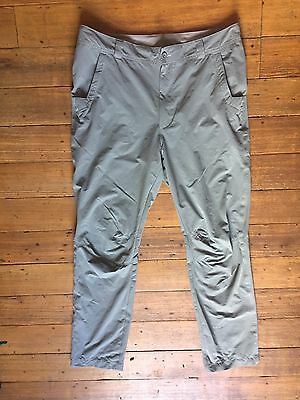 Rohan Grey Escapers Lightweight Walking Trousers. Size 36.