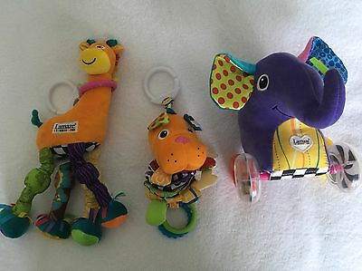 Lamaze baby toys. Excellent condition: 0-24 months. Hardly Used At Nana's House!