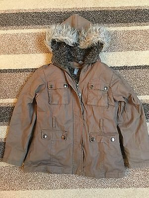 Zara Girls Coat Age 9-10