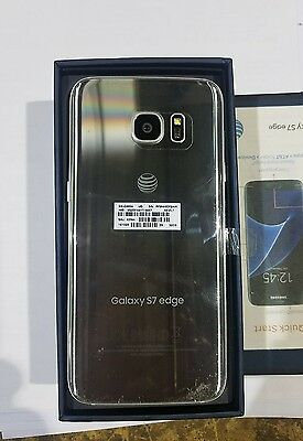 Samsung Galaxy S7 edge G935A-32GB- Silver AT&T GSM Unlocked -NEW in Box