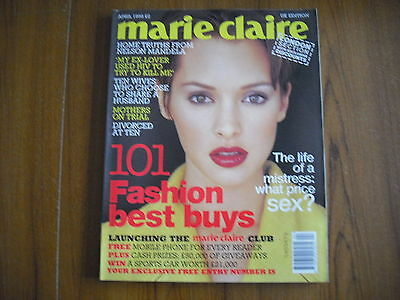 Marie Claire - April 1995 - Uk Edition - Howard Huges, Isabella Rossellini