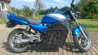 Electric Motorcycle Zero emissions custom built one off rare opportunity