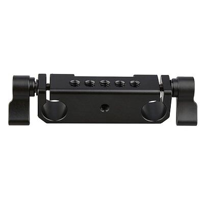 CAMVATE Rod Clamp 15mm Railblock fr DSLR 15mm Rail Rig Rod Support System