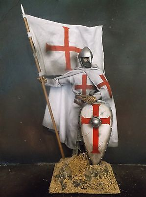 "12"" Custom Hugh De Payens, 1St Knights Templar Grand Master 1/6 Figure Ignite"