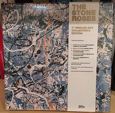 """The Stone Roses 7"""" Singles Box Collectors Edition Sealed"""