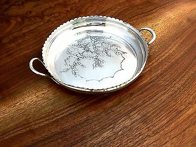 J.B. & S.M. Knowles American Sterling Silver Decorated Bowl: c1900 No Monogram