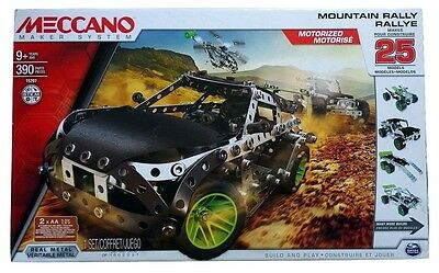 MECCANO 15207 Mountain Rally 25 Modelle Set