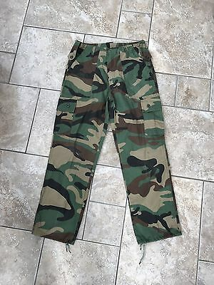 Boys camouflage trousers Age 13-14