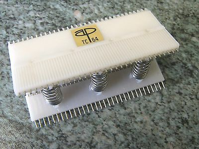 TC64 IC TEST CLIP 64 PIN DIL AP PRODUCTS tms9900 dec pdp pdp8