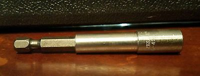 APEX M-495-1PK Screwdriver Bit, Bit Holder, 1/4 In New