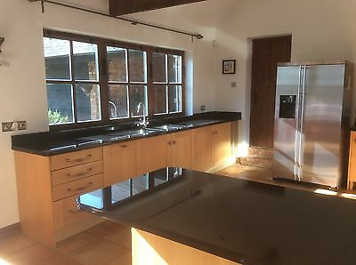 Luxury kitchen for sale, including granite worktops and Neff appliances.