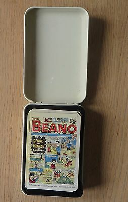 Beano Playing Cards, New In Display Tin