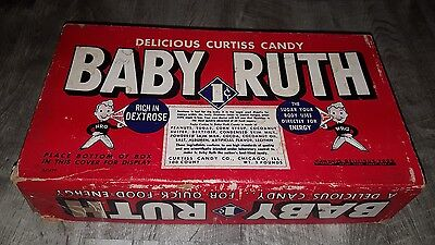 Vintage 1930s/40s Baby Ruth Candy Box