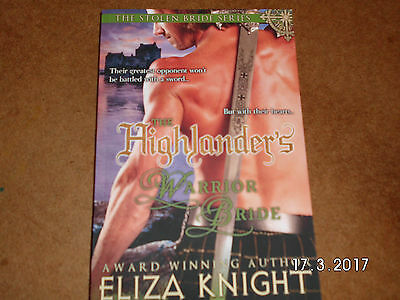 The Highlander's Warrior Bride by Eliza Knight Paperback Book (English) #4