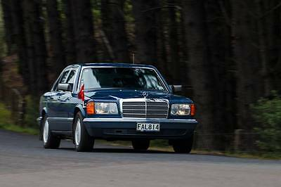 Mercedes W126 Mb Factory Armoured Guard