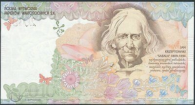 Poland Pwpw Test Note Sabala 2010 Without Number Unc