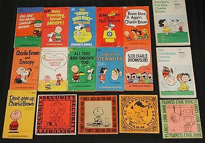 Lot of 35 Peanuts Books by Charles M. Shultz Paperback