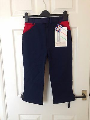 """Craghoppers RA double seat breeches, size 28"""" waist Navy Climbing/Riding/Cycling"""