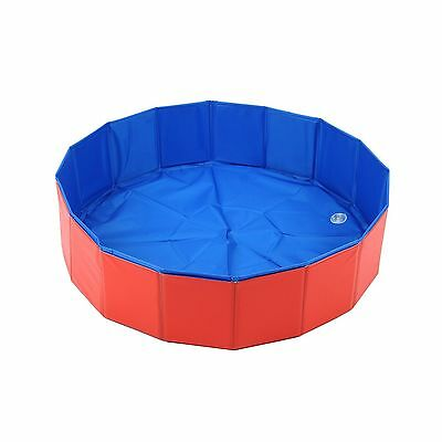 Lalawow SO COOL Foldable Pet Swimming Pool Bathing Tub Bathtub Dog Cats Washe...