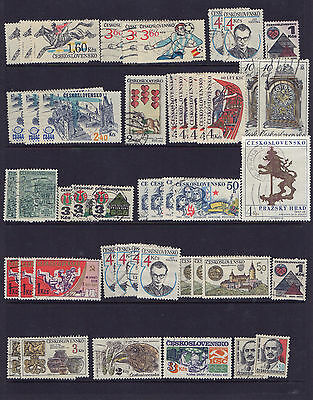 Czechoslovakia - Lot Of Fifty Two (52) - Very Good Used Stamps