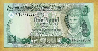 Northern Ireland 1 Pound 1979 AU P-247b Currency Banknote ***USA SELLER**