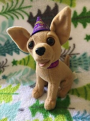 Yo Quiero Taco Bell Chihuahua With 2000 New Years Party Hat Speaks Amigos