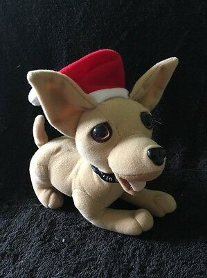 Taco Bell Yo Quiero Taco Bell Chihuahua With Santa Hat Speaks