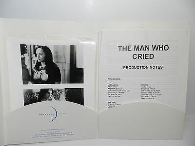 The Man Who Cried Production Notes & Press Photos Johnny Depp Christina Ricci