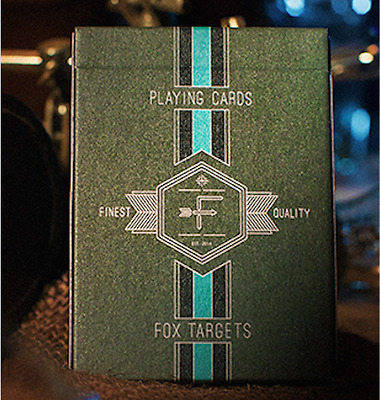 Fox Targets Playing Cards Deck