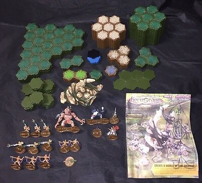 Heroscape Master Set 2 Swarm Of The Marrow Games Pieces And Figures Lot Nice