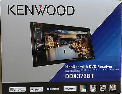 Kenwood DDX372BT DVD Receiver with Built-in Bluetooth
