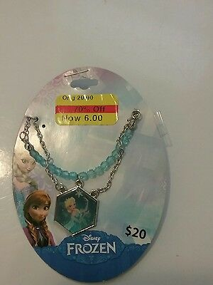 Little girls Disney Frozen Elsa necklace, NIP