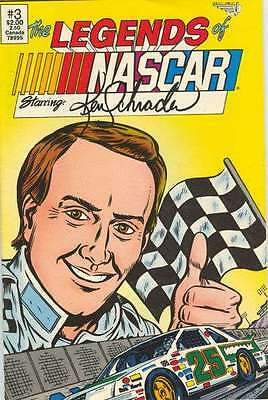 Legends of NASCAR #3 in Near Mint - condition. FREE bag/board