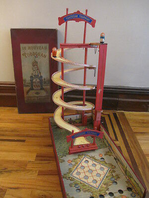 All Original Rare Large Game The New Rotating Slide 1900