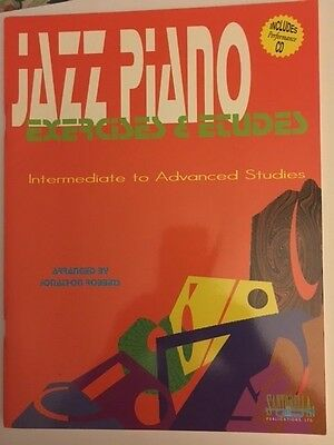 JAZZ PIANO EXERCISES & ETUDES NEW BOOK with CD BOOK TWO