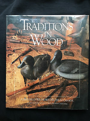 Traditions in Wood, antique decoys of Canada, vintage duck decoys